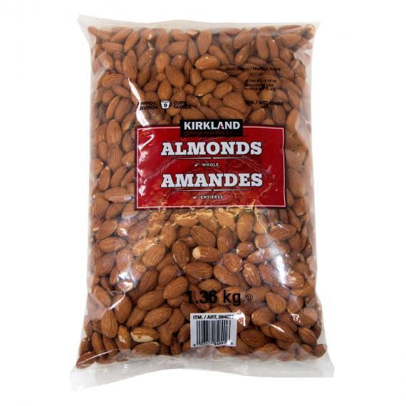 Kirkland Signature Whole Almonds 1.36 kg