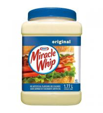 Kraft - Pot de tartinade Miracle Whip de 1.77 L