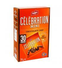 Leclerc Célébration - Mini biscuits aux pépites de chocolat Paquet de 30