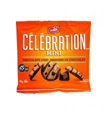 Leclerc Célébration - Mini biscuits aux pépites de chocolat 30 x 26 g