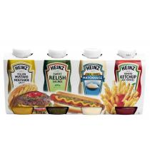 Heinz Condiment Picnic Pack 4 × 750 mL