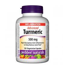 Webber Naturals - Curcuma évolué 120 capsules