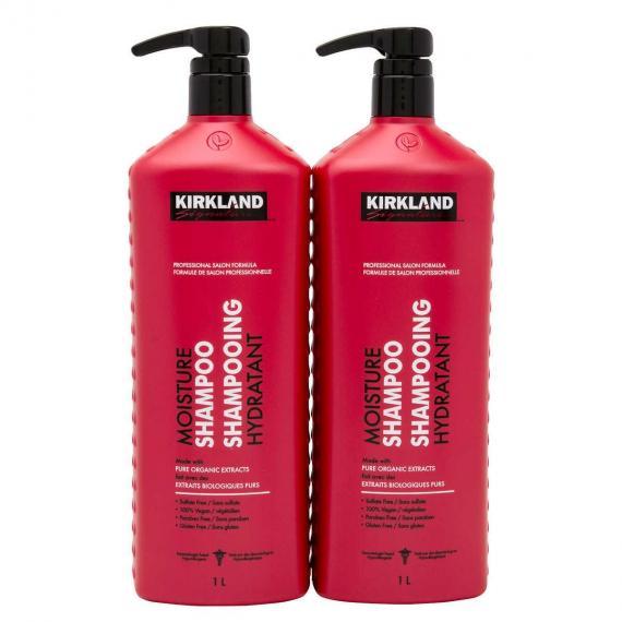 Kirkland Signature de l'Humidité Shampooing, 2 x 1 L