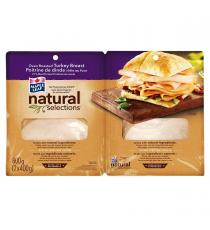 Natural Selections Sliced Turkey Breast 2 × 400 g