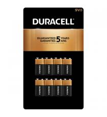 Duracell 9V Batteries Pack of 8