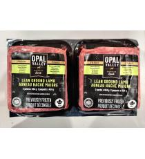 Lean Ground Lamb, Halal, 2 x 454 g