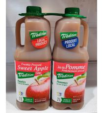 Tradition Apple Juice 2 × 2 L