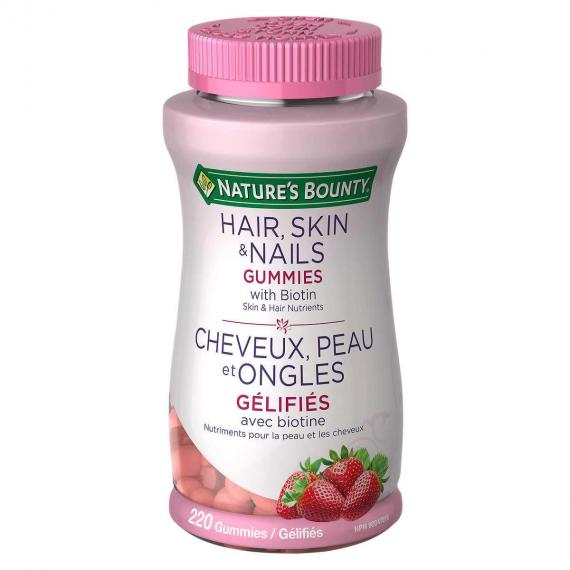 Nature's Bounty Hair Skin and Nails Gummies 220 gummies