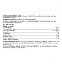 Kirkland Signature Calcium Plus avec vitamine D3 et minéraux 600 mg | 800 UI - 500 comprimés