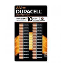 Duracell - Piles AA Paquet de 48