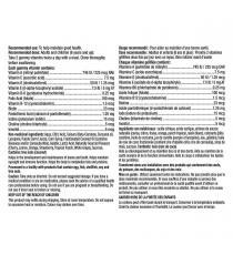L'il Critters – Supplément vitaminique GummyVites(MC) - 275 oursons gélifiés