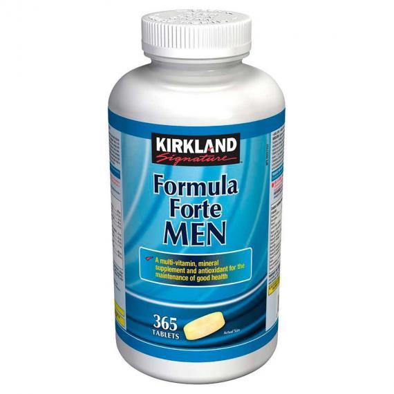 Kirkland Signature Formula Forte Men, 365 Tablets