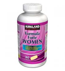 Kirkland Signature Formula Forte Women, 365 Tablets