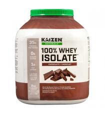Kaizen Naturals - Isolat de petit-lait en poudre au chocolat 2 kg