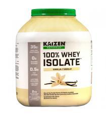 Kaizen Naturals - Isolat de petit-lait en poudre Vanilla 2 kg