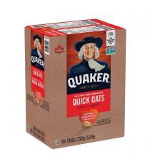 Quaker - Ensemble de 2 boites de gruau rapide, 2 × 2.58 kg