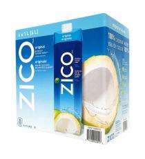 Zico - Eau de coco 6 × 1 L