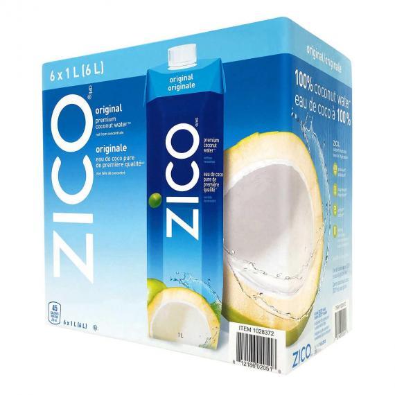 Zico Original Coconut Water 6 × 1 L