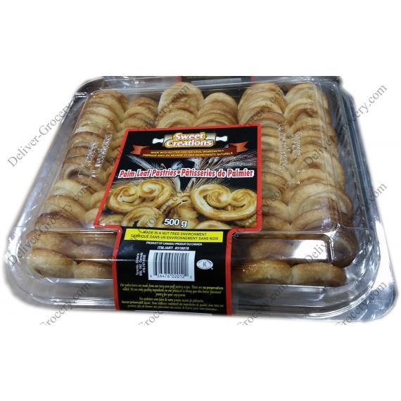 Sweet Créations de Feuilles de Palmiers, des Pâtisseries 500 g
