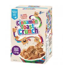 Super Jumbo Cinnamon Toast Crunch Cereal, 1.3 kg