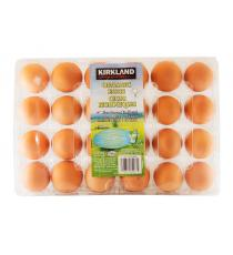 Kirkland Signature Large Organic Eggs Pack of 24