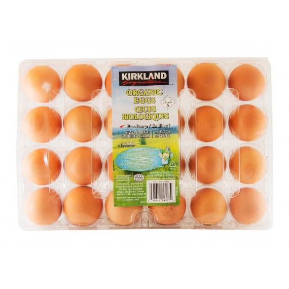 Kirkland Signature Large Organic Eggs Pack of 24