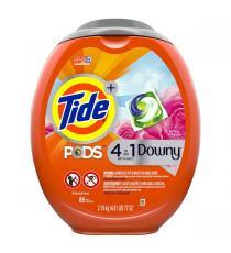 Tide Pods avec Downy - Détergent à lessive, 88 brassées