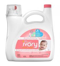 Ivory Neige - Détergent à lessive liquide pour vêtements de bébé, 101 brassées