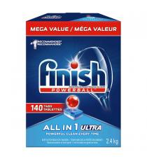 Finish Powerball Max in 1 Ultra Dishwasher Detergent, 140 tabs, 2.4 kg