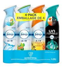 Febreze Air Refresher, Pack of 4
