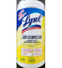 Lysol Disinfectant Cloths, 1 pack, 100 wipes