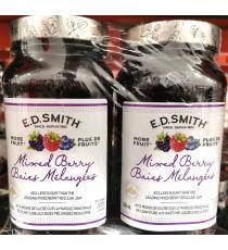 E.D.Smith Mixed Berry Jam, 2*650ml