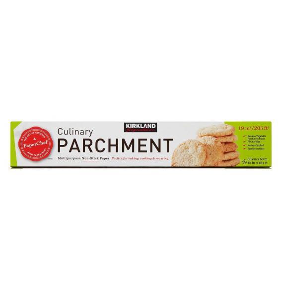 Kirkland Signature Culinary Parchment, Multipurpose Non-Stick Paper