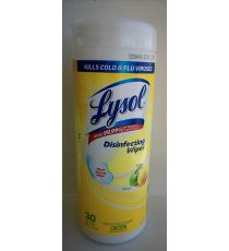 Lysol Disinfection Wipes, 30 wipes