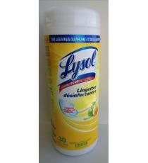 Lysol Lingettes désinfectantes, 30 lingettes