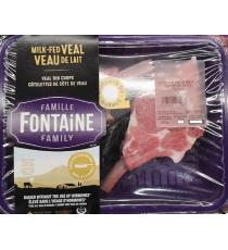 Famille Fontaine, Côtelettes de cotes de veau de lait, Halal