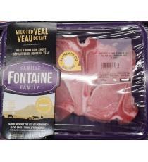 Famille Fontaine, Côtelettes de longe de veau, Halal