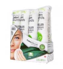 Delon Premium Cosmetic Cotton Rounds, 1-pack of 100
