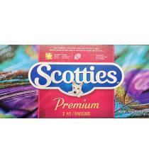 Scotties Premium Tissues,2ply, 1 box