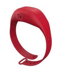 Distributeur de désinfectant pour les mains à bracelet réglable pour adultes, rouge