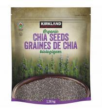 Graines de Chia biologiques Kirkland Signature, 1,36 kg