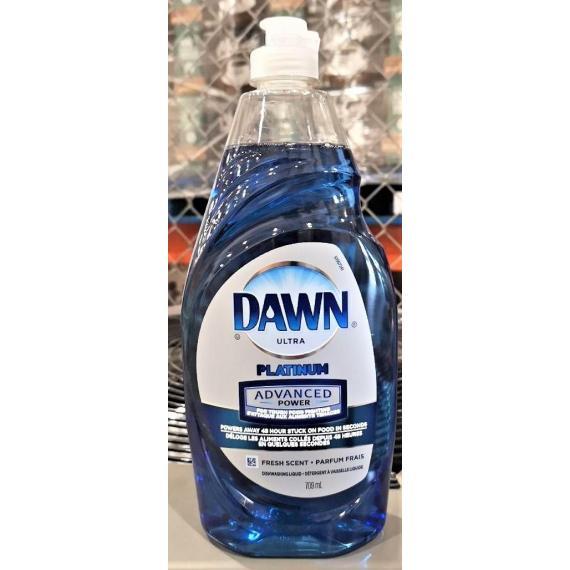 DAWN Platinum, Dishwashing Liquid, 709 ml
