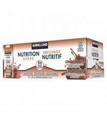 Kirkland Signature Nutrition Shake, Chocolate, 32 x 242 ml