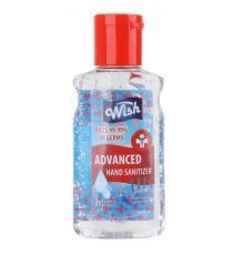 Wish Désinfectant pour les mains, format de poche avec vitamine E, 59 ml