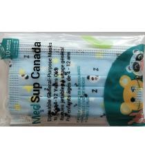 MedSup Canada, Disposable Masks with design for kids 4-12, 10 Masks
