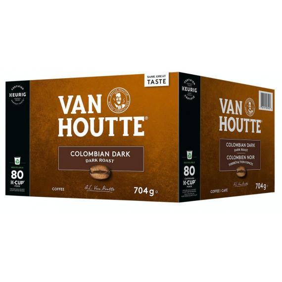 Van Houtte Colombien Café noir, 80 tasses, 704 g