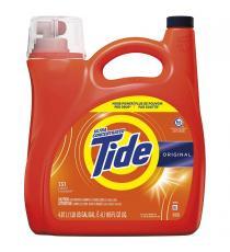 Détergent à lessive liquide Tide HE, 4,87 L, 131 brassées