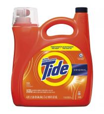 Tide HE Liquid Laundry Detergent, 4.87 L, 131 loads