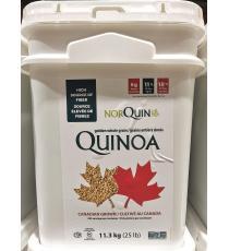 Norquin Canadien de Quinoa, grains entiers dorés, 11.34 kg