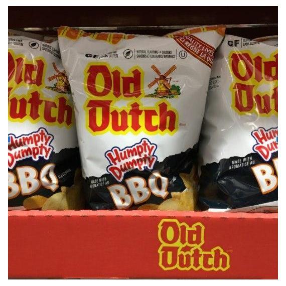 Old Dutch, Humpty Dumpty, BBQ Flavoured, Gluten Free, 725 g